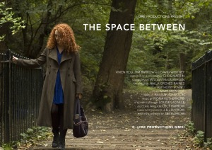 Official poster for THE SPACE BETWEEN